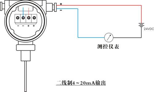 巧型液位变送器接线图-智能雷达物位计 导波雷达物位 超声波物位仪 图片